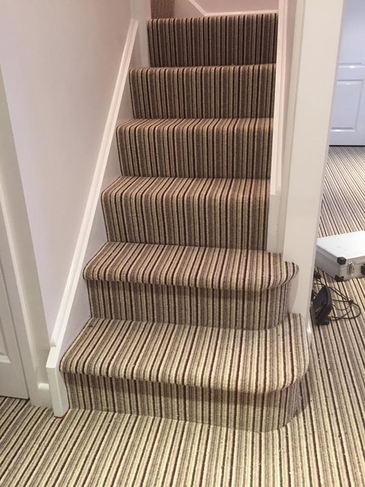 new stair carpet